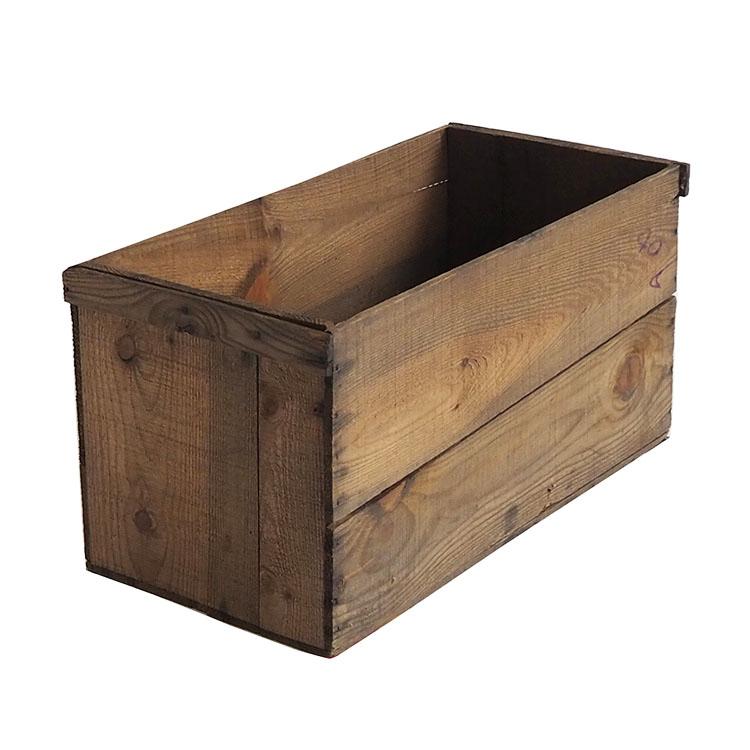 ヴィンテージ木箱 カラー:ブラウン