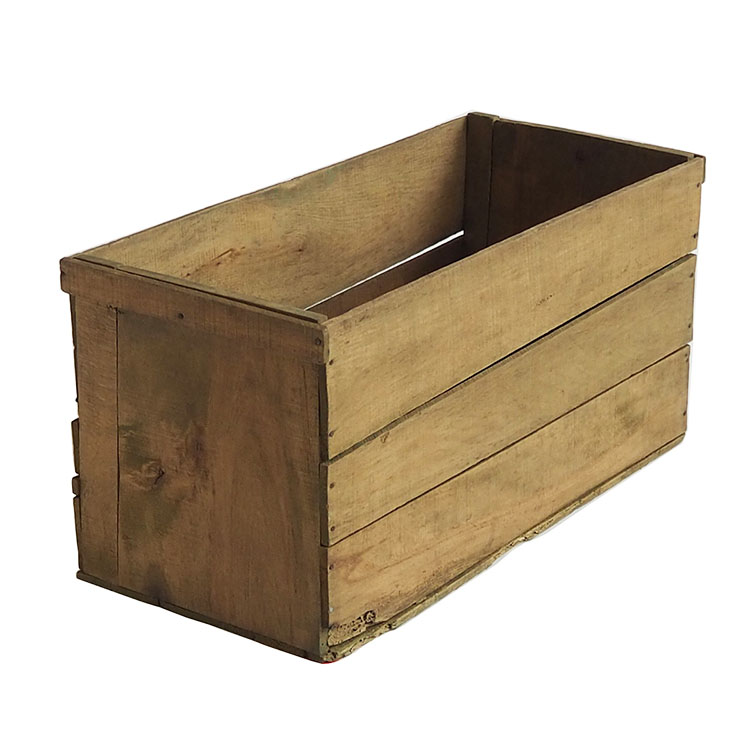 ヴィンテージ木箱 カラー:オリーヴ