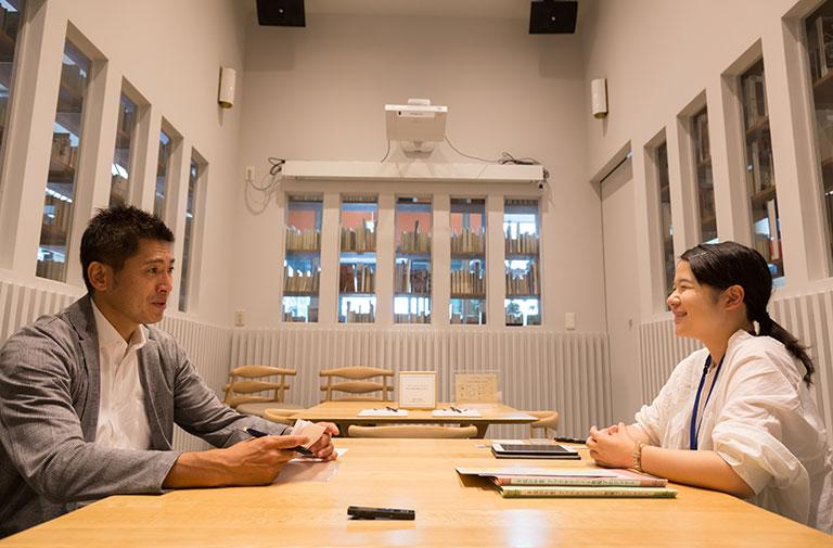 写真:八戸ブックセンターの熊澤様